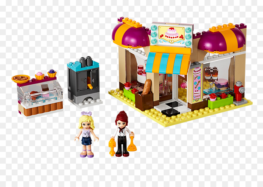 Lego 41006 De Del Centro Panadería Amigos P80wnOkNX