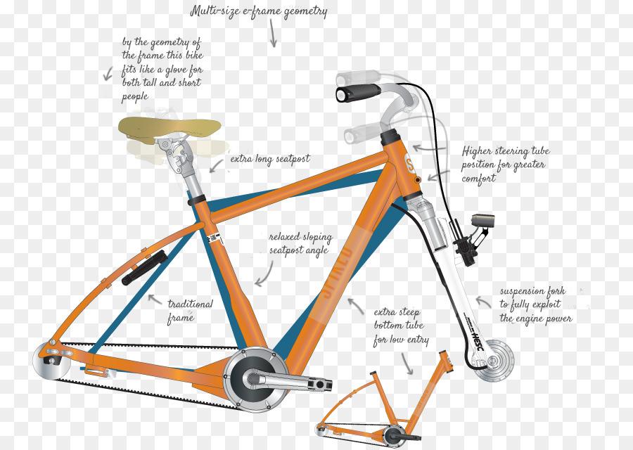 Cuadros de bicicletas de Ruedas de Bicicleta bicicleta Híbrida ...