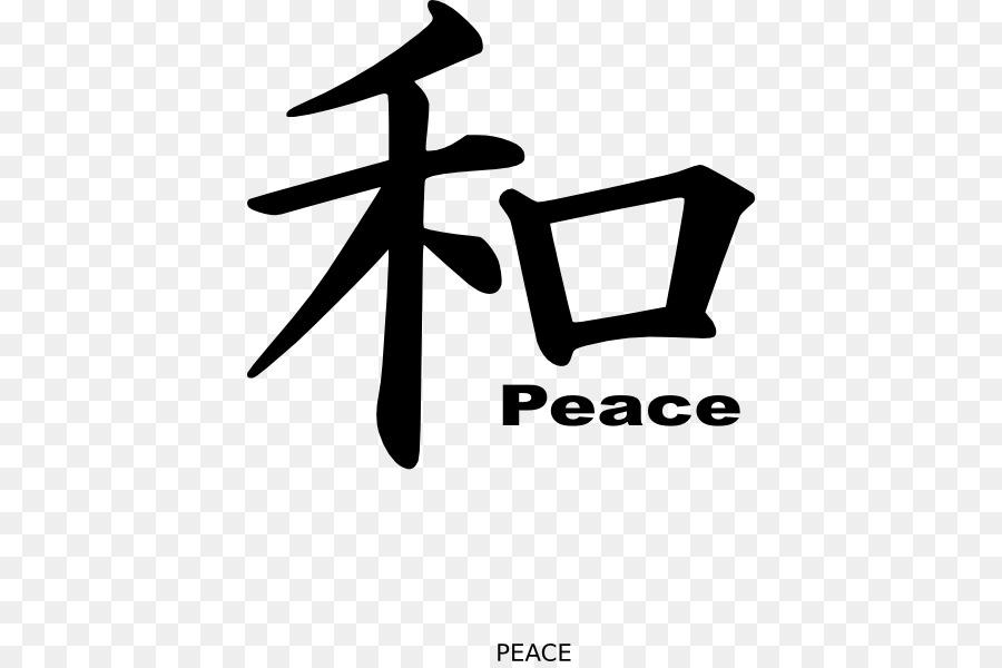 Kanji Peace Symbols Decal Japanese Writing System Finger Moustache