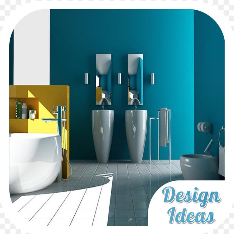 Akzent Wand Farbe Badezimmer Fliesen - Farbe png herunterladen ...