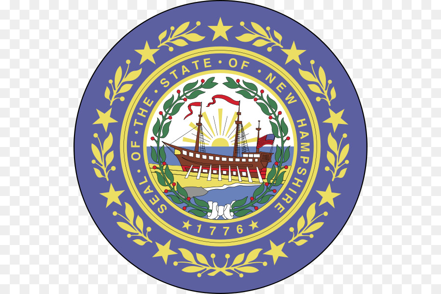 Flag And Seal Of New Hampshire State Flag Flag Of The United States