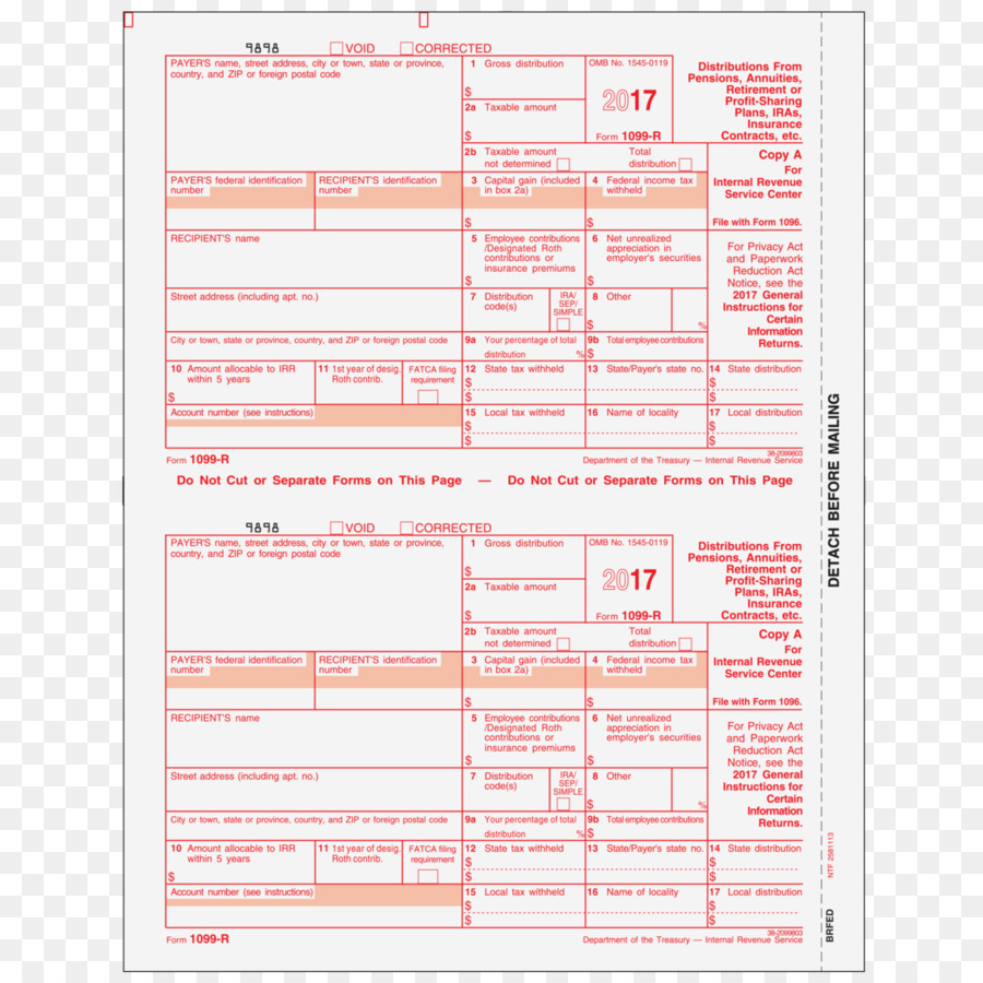 Paper Form 1099-MISC Form 1096 IRS tax forms - Form 1098t png ...