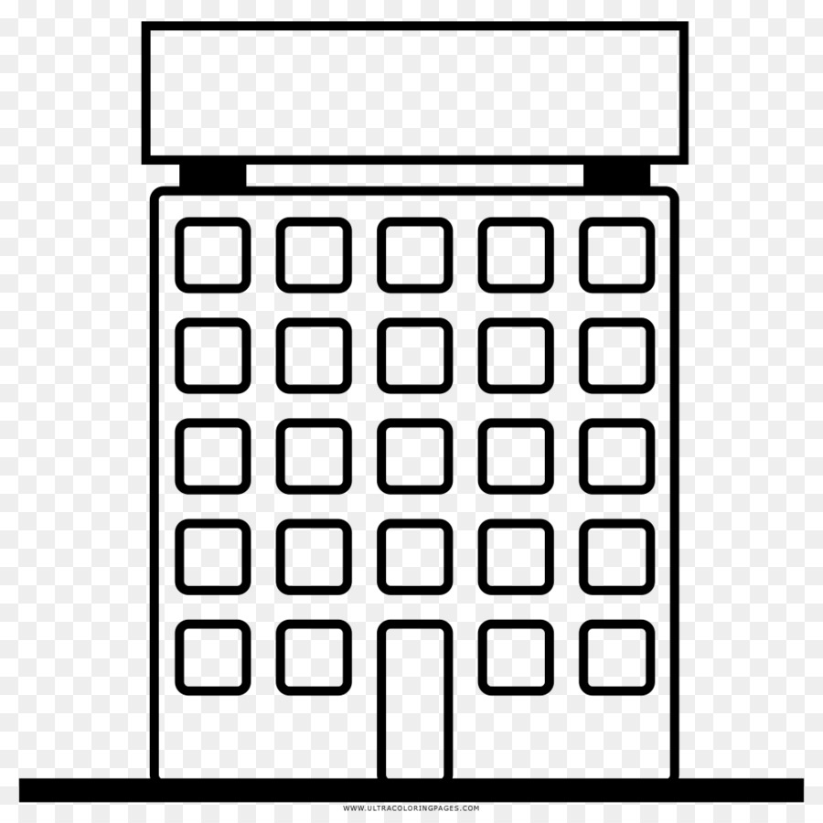 Building Coloring book Drawing Skyscraper - building png download ...