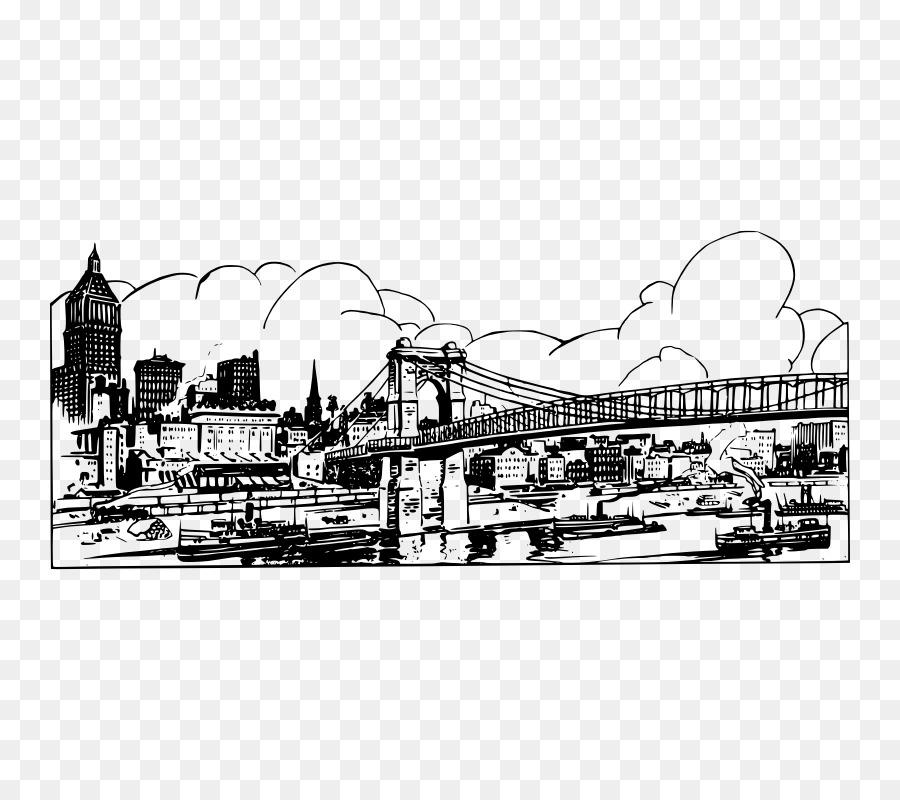 La Ciudad de nueva York invitación de la Boda Horizonte de Clip art ...