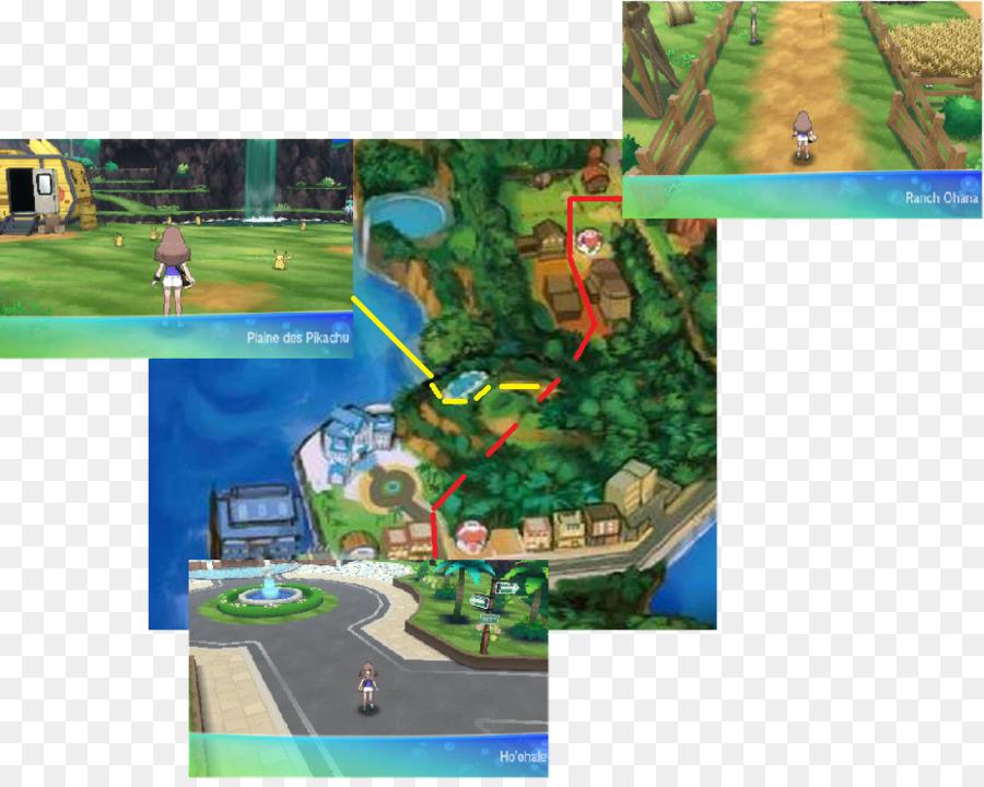 Pokémon Ultra Sun and Ultra Moon Pikachu Road Ohana Biome - pikachu