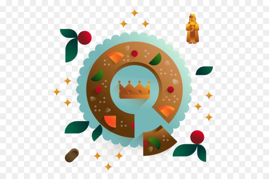 Dibujo De Rosca De Reyes Para Colorear: Rosca De Reyes Dibujo