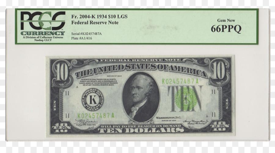 United States Ten Dollar Bill United States One Dollar Bill Silver