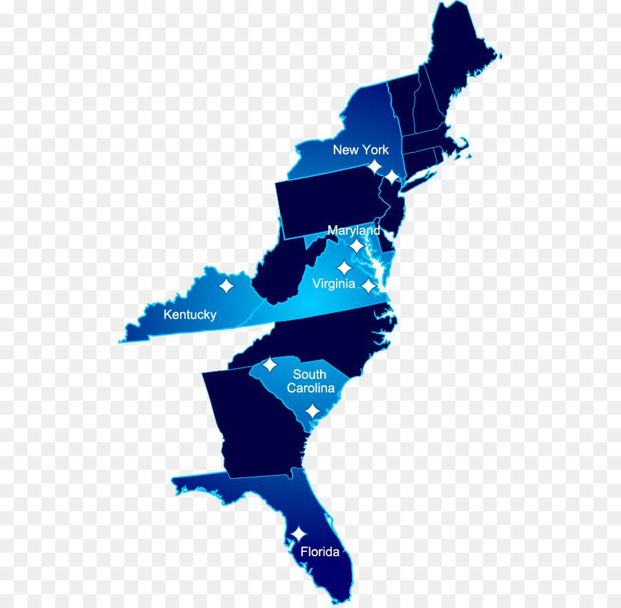 East Coast Of The United States West Coast Of The United States - Eastern-us-coast-map