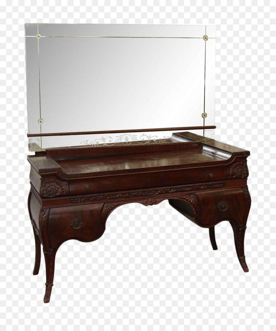зеркало ящик тщеславие Chairish античная зеркало Png