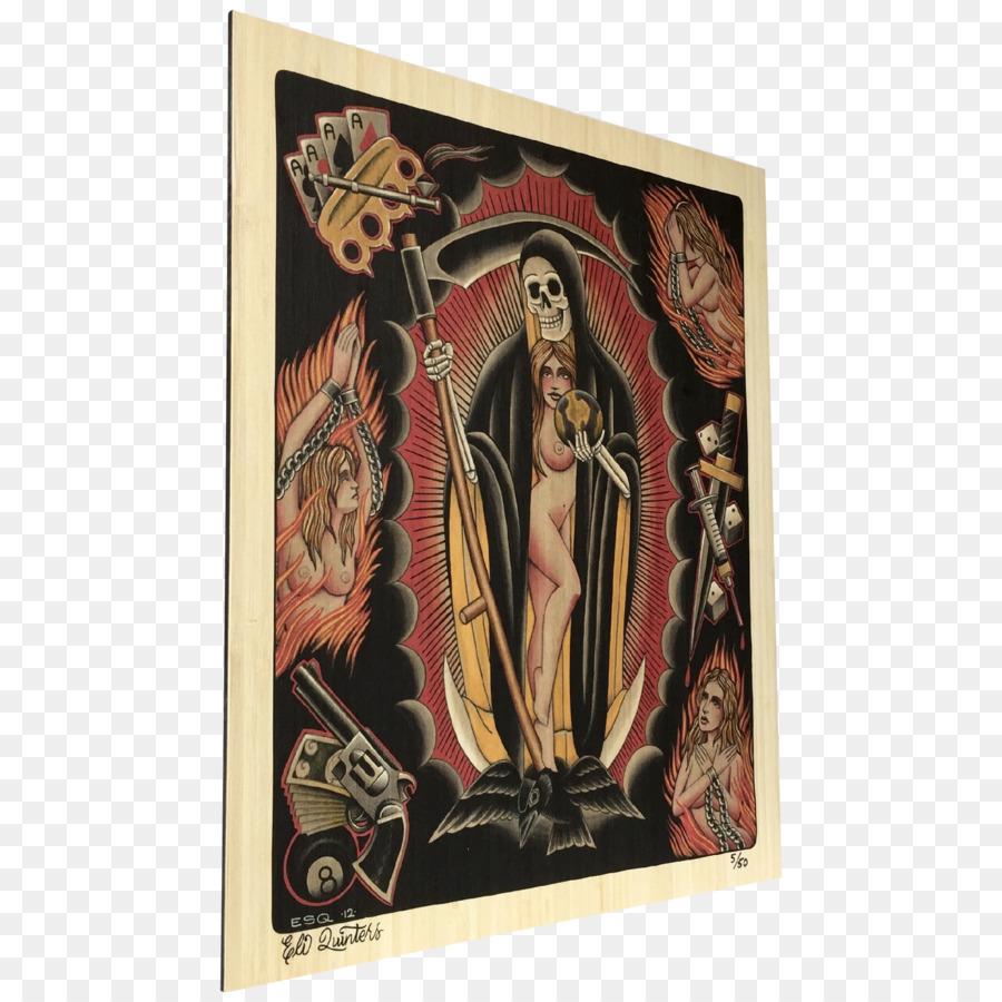 Artis Santa Muerte Seni Grafis Edition - Santa muerte