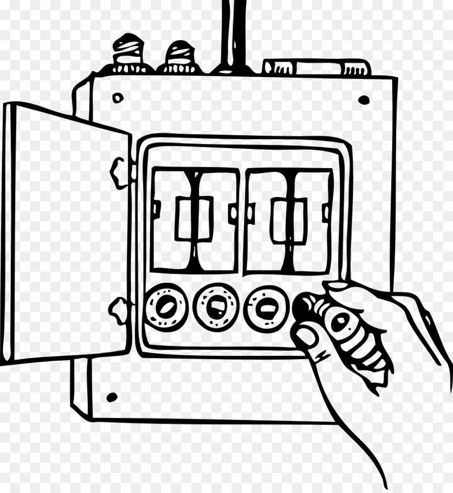 Fuse Wiring diagram Clip art - Fuse Box