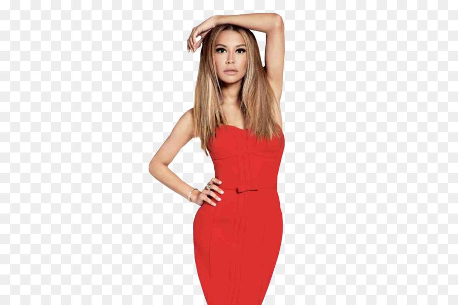 Naya Rivera Glee Blonde Modell Mode - Modell png