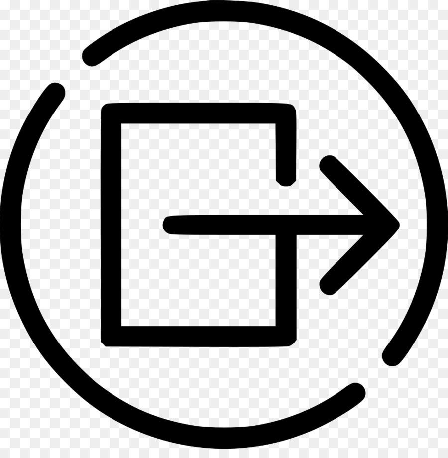 Perangkat Output Komputer Ikon Inputoutput Perangkat Input Keluar