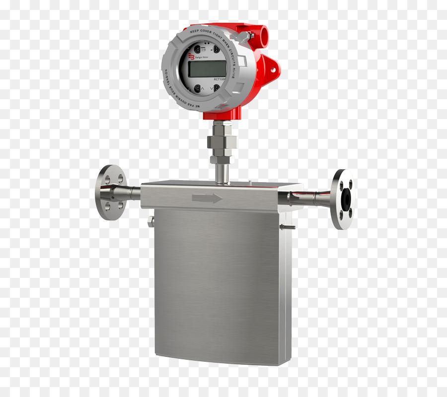 flow measuring apparatus report - illustration of the differential pressure flow measuring principle.