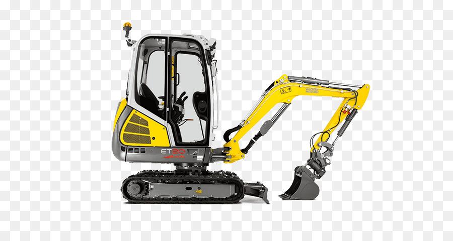 Excavator Yellow png download - 700*466 - Free Transparent Excavator