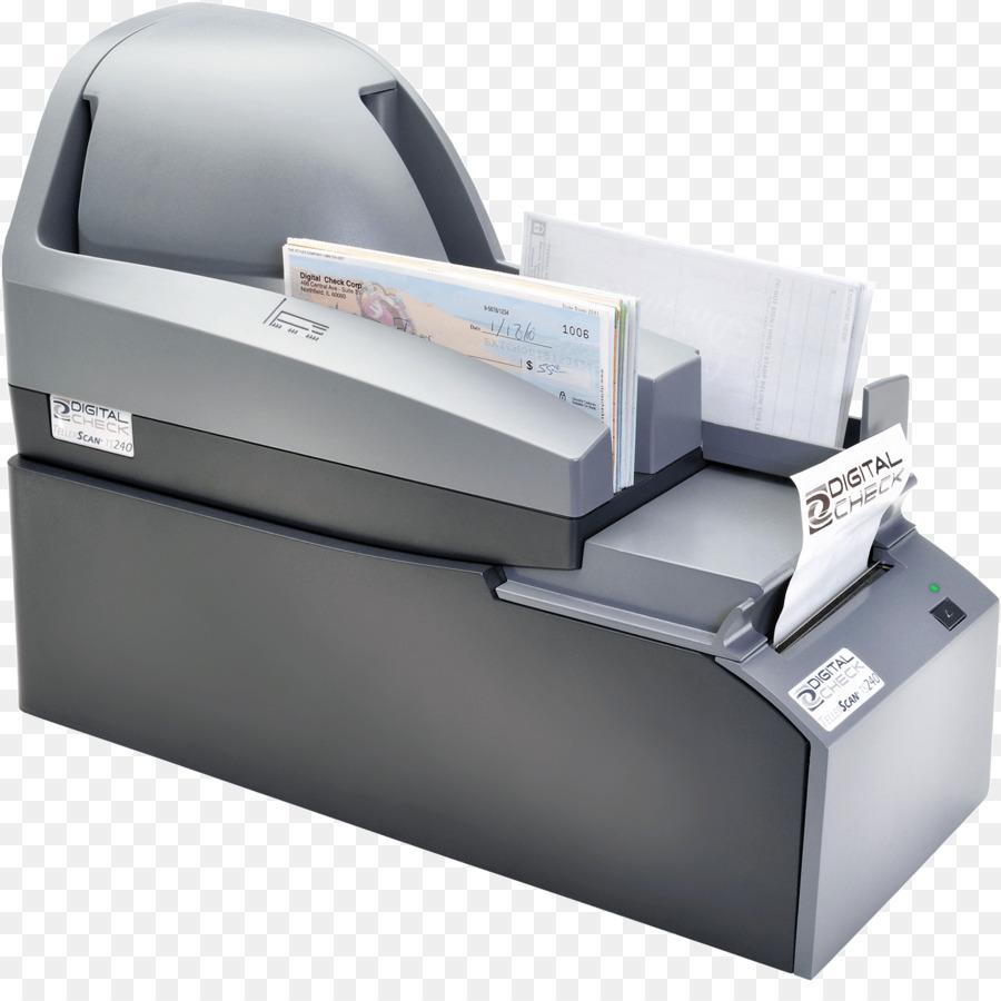 Digital Check TellerScan TS240 Inkjet printing Image scanner