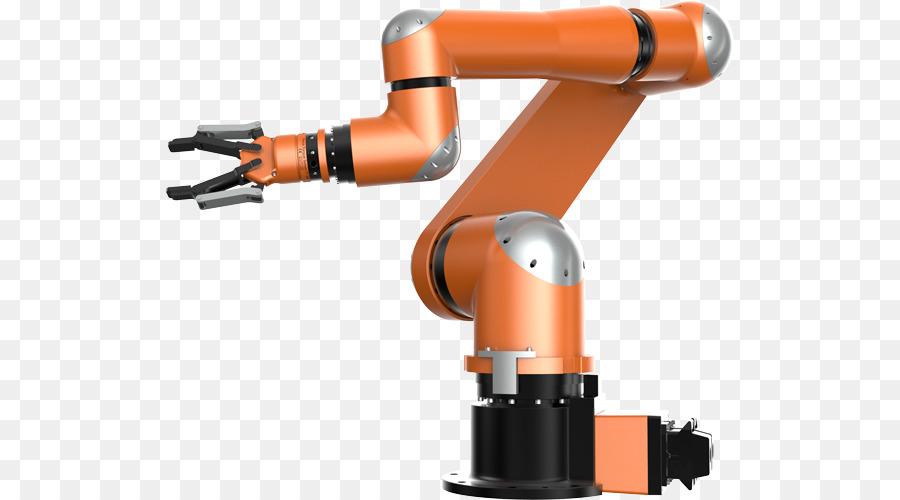 Robotic Arm Orange png download - 568*500 - Free Transparent Robotic