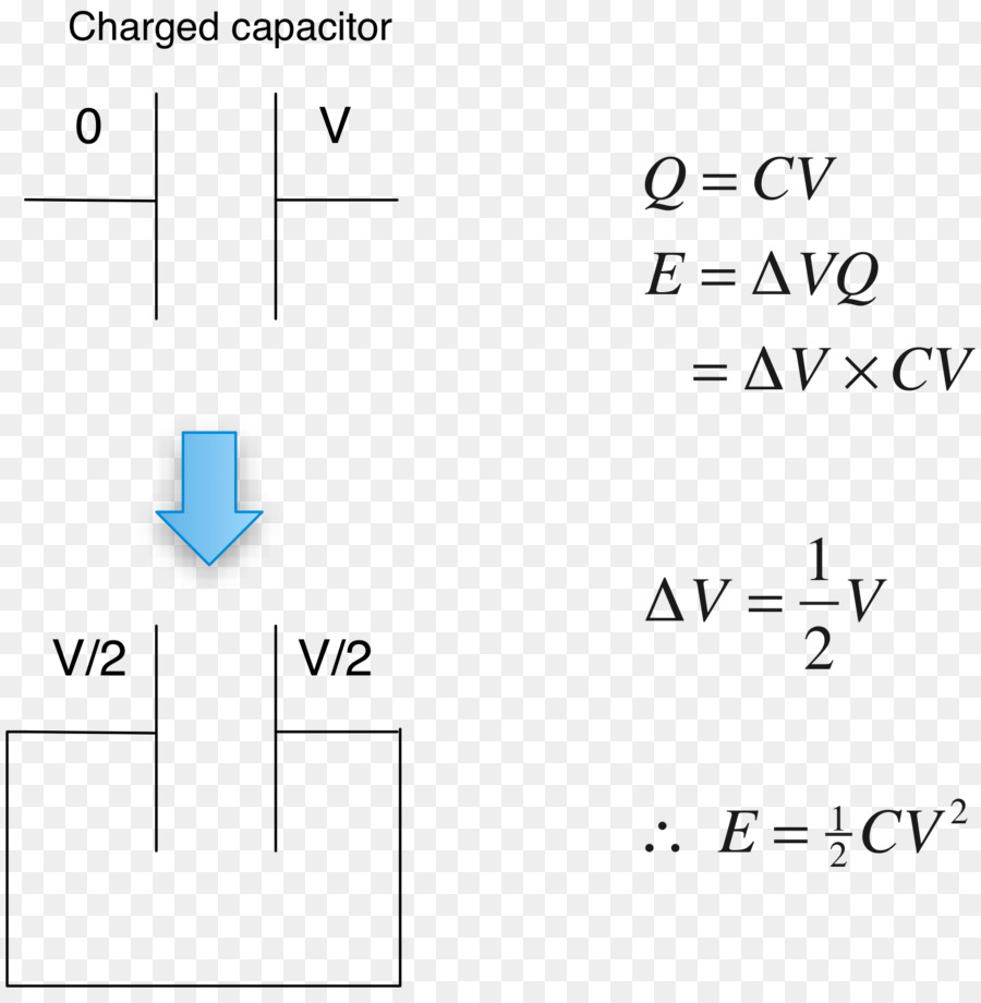 Capacitor Wiring diagram Series and parallel circuits Capacitance Electric  potential difference - others