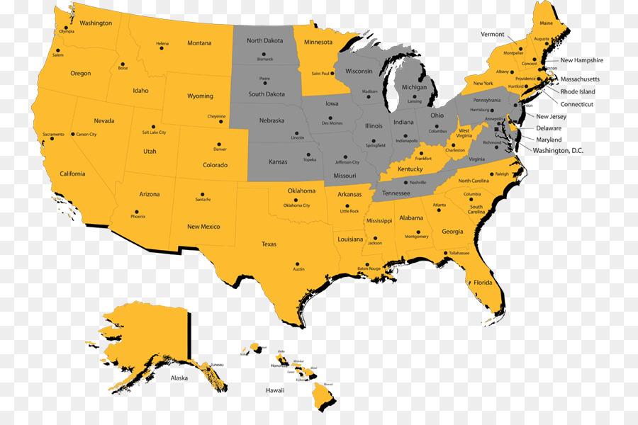 Map North Dakota U.S. state Social media - map png download - 840 ...