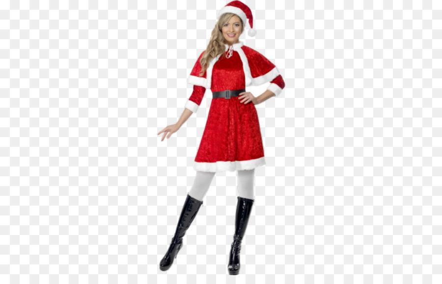 407068347e7 Santa Claus Mrs. Claus Costume party Dress - santa claus png ...