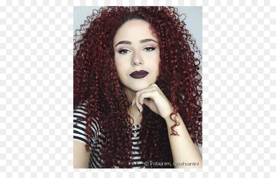 Black Hair Red Hair Mahogany Hair Png Download 790569 Free