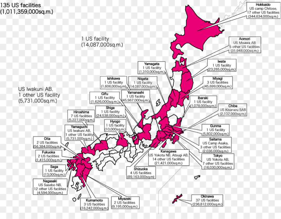 Yokota Air Base Sasebo United States Military Base United States - Map-of-us-air-bases
