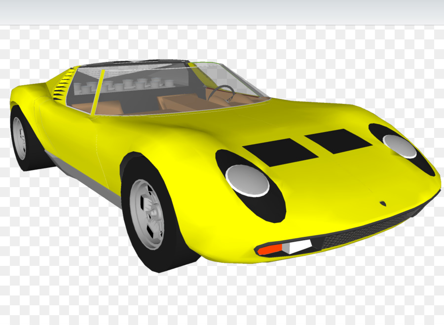 Car Lamborghini Miura Automotive Design Miura Bull Car Png