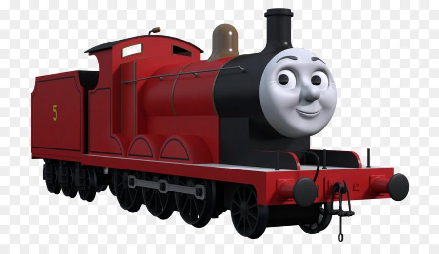 Thomas Friends James The Red Engine Train Rail Transport