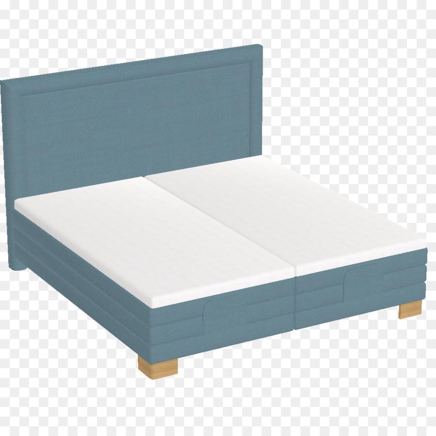 Bed frame Box-spring Mattress - Mattress png download - 1000*1000 ...