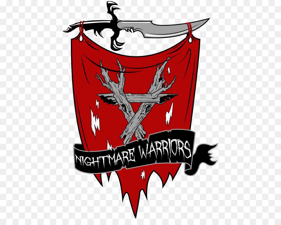 Freddy Vs Jason Ash The Nightmare Warriors Logo Graphic Design