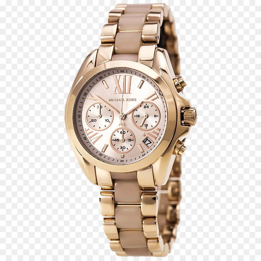 41b8d75716990 Correia de relógio Michael Kors women s Bradshaw Cronógrafo Jóias Michael  Kors Acesso das Mulheres Slim Pista Pulseira de Ouro Híbrido Smart Watch -  ...