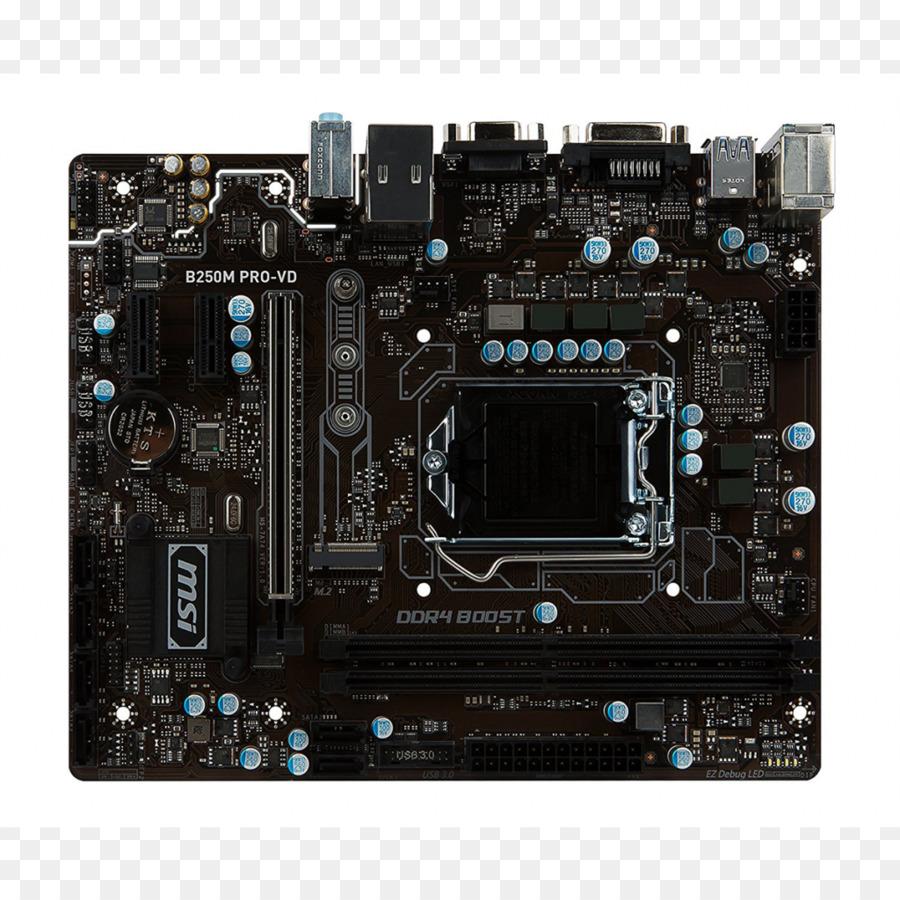 LGA 1151 MSI H270 GAMING PRO CARBON Motherboard microATX - Lga 1156