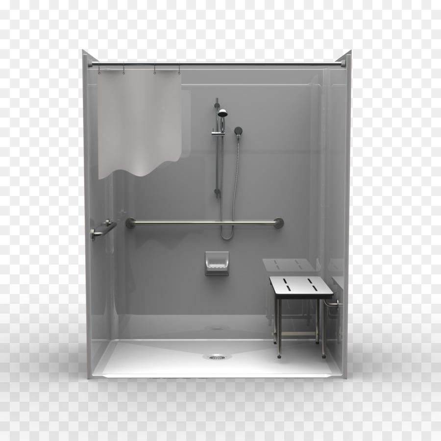 Shower Bathroom cabinet Bathtub Disability - shower png download ...