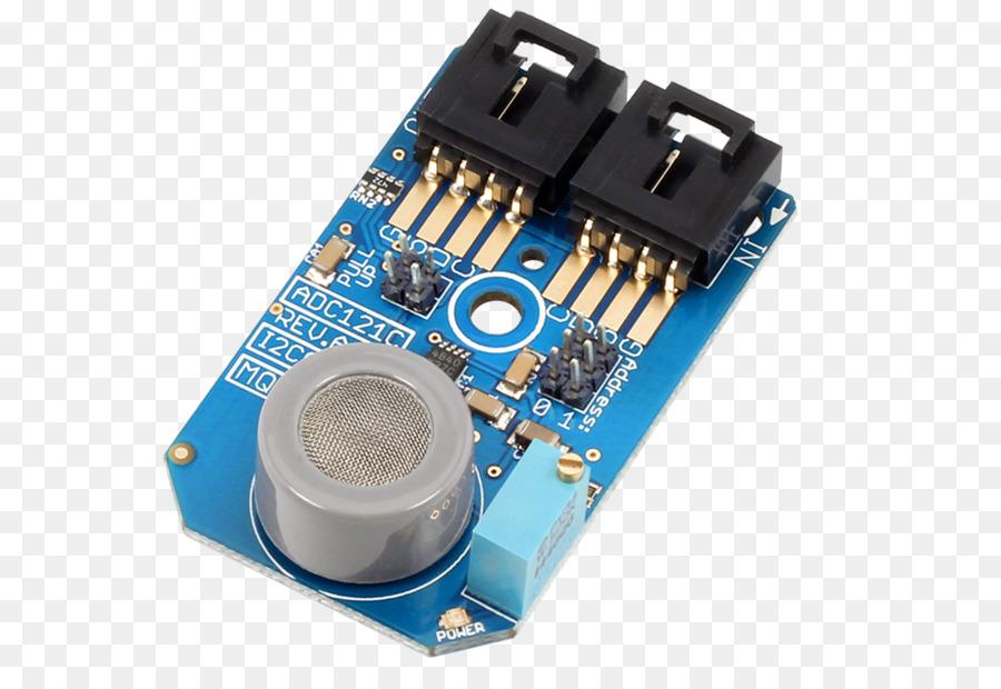 analogtodigital converter, i�c, analog signal, technology, electronic  component png