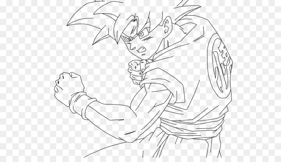 Goku Super Saiyan Drawing Dragon Ball Goku Png Download 1024 576