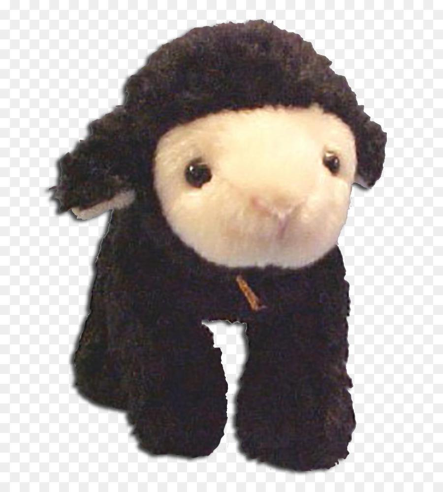 Black Sheep Stuffed Animals Cuddly Toys Gund Sheep Png Download