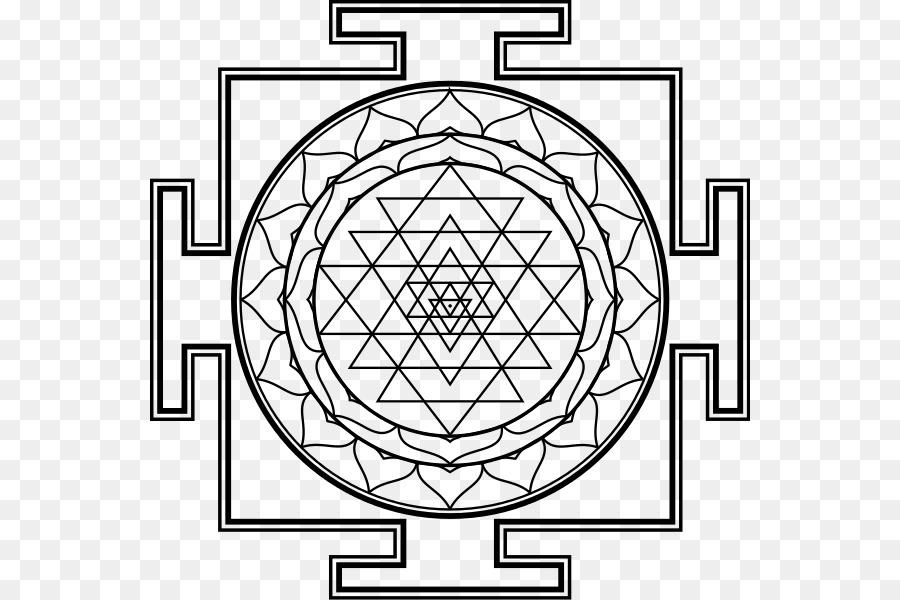 Lakshmi Kali Sri Yantra Sri Yantra Png Download 600600 Free