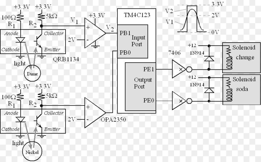 wiring diagram, vending machines, electronic circuit, text, diagram png