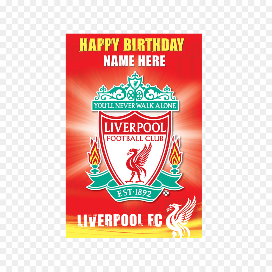 Liverpool F.C. Greeting & Note Cards Christmas card Birthday ...