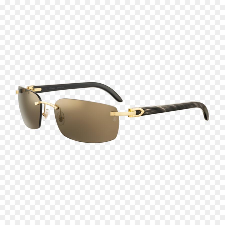 d666c7d4f2 Sunglasses Cartier Ray-Ban Gold - Hornrimmed Glasses png download -  1024 1024 - Free Transparent Sunglasses png Download.