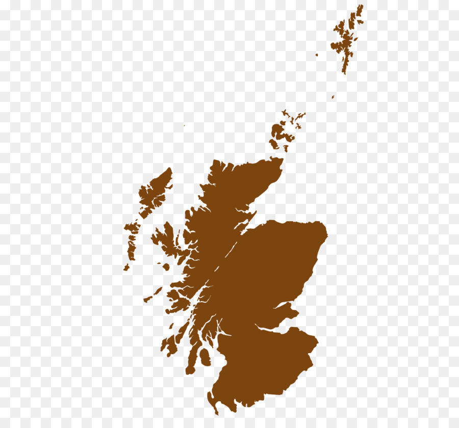 Scotland Royalty-free Vector Map - Outline Of The British Virgin ...