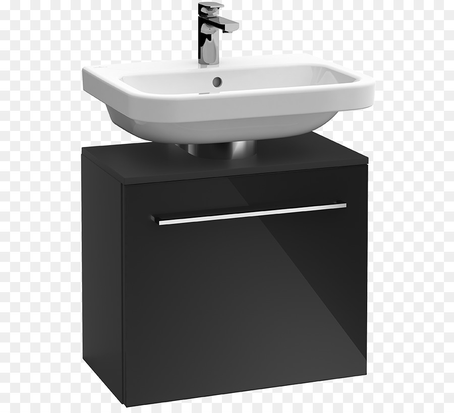 Badezimmer Schrank Waschbecken Villeroy Boch Schublade