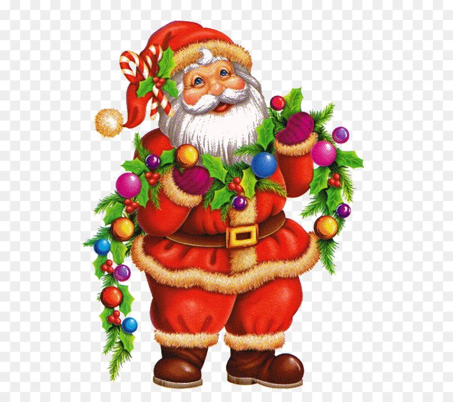 Santa Claus Pere Noel Christmas Tree Drawing Santa Claus Png