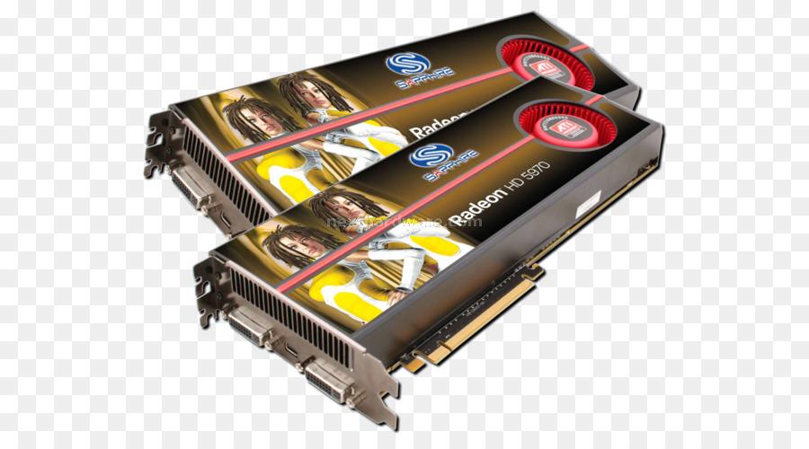 Ati Radeon Hd 5970 Io Card png download - 600*490 - Free Transparent
