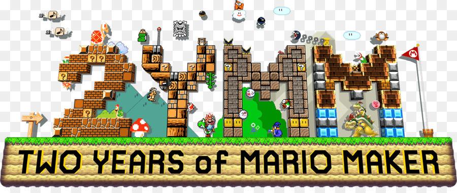 Super Mario Maker Games png download - 1283*526 - Free Transparent