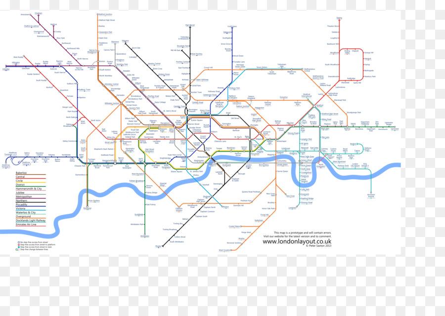 London Underground Tube map-London Overground Grundstück - Anzeigen ...