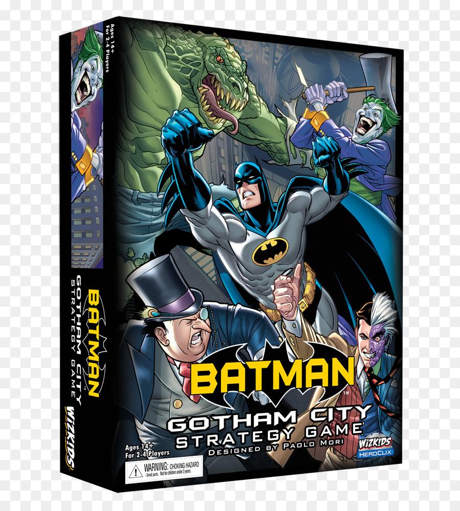 Heroclix Batman Arkham City Joker Pinguin Batman Png