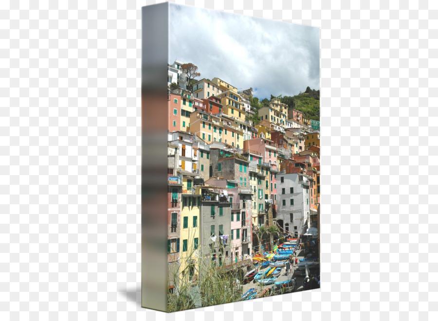 Manarola Jendela Fasad Lingkungan Kolase Cinque Terre Png Unduh