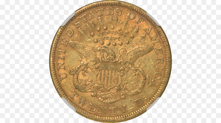 Goldmünze Liberty Head Double Eagle Münze Png Herunterladen 500