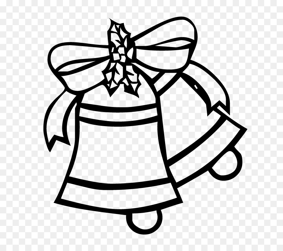 coloring book belle drawing christmas bell png download 800 800